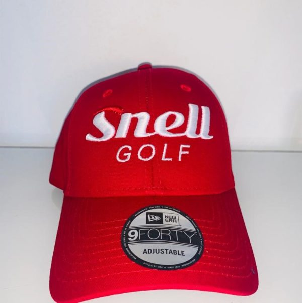 Rote Snell Golf Kappe