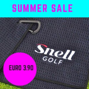 Snell Golf Tuch
